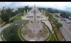 White Temple in Chiang Rai with Drone - วัดร่องขุ่น