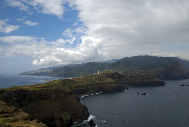 Panorama Madery - Madeira landsacape Ponta de Sao Lourence by Malcolm Browne, on Flickr