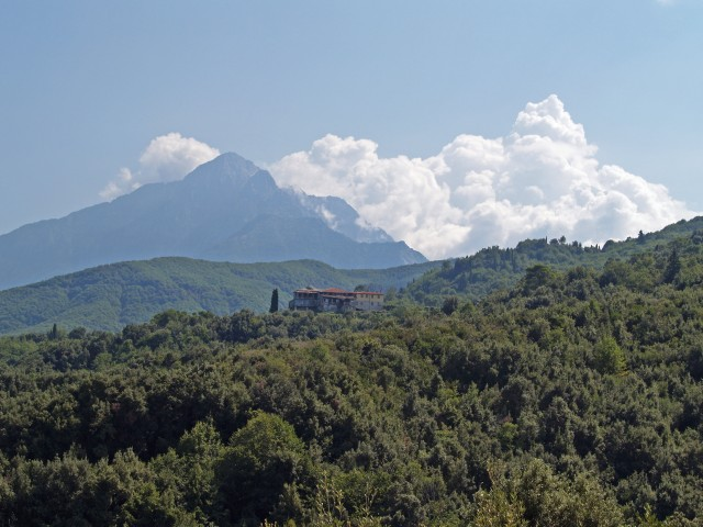 Góra Athos - Mt. Athos by Dave Proffer, on Flickr