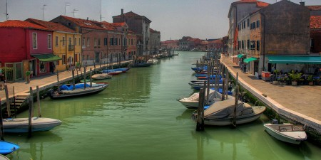 Wyspa Murano, foto: hdr - murano channel by Lukasz, on Flickr
