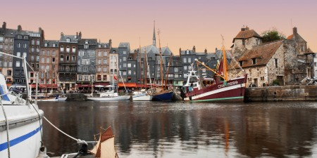 Showing Honfleur to my sailboat 0031 by Olivier Penet, on Flickr