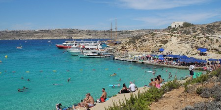 Blue Lagoon, Comino, Malta by Shepard4711, on Flickr
