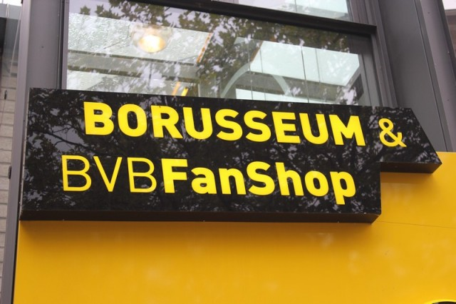 Borusseum i BVB Fan Shop