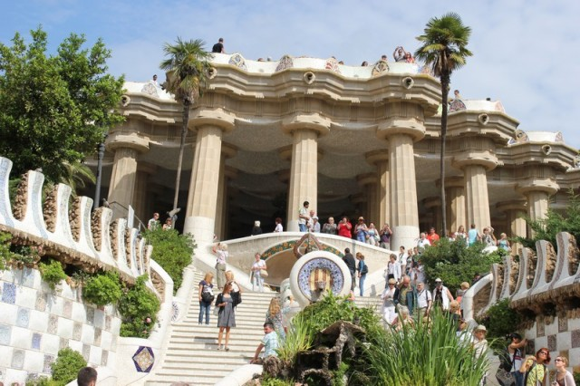 Parc Guell w Barcelonie
