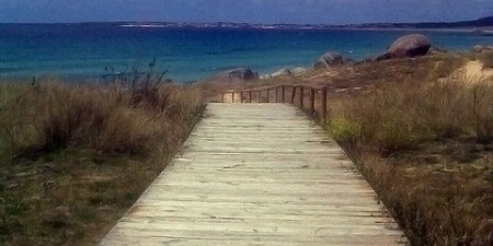 Pasarela de Madera en la Praia do Vilar by Amio Cajander., on Flickr