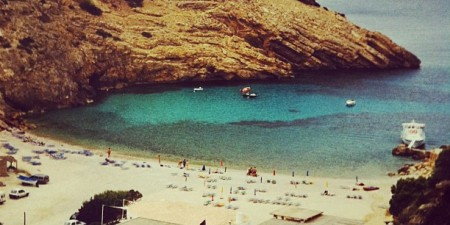 Cala Moli #unspoilt #instagram #iphonography #bay #eivissa #ibiza #beaches by Podknox, on Flickr