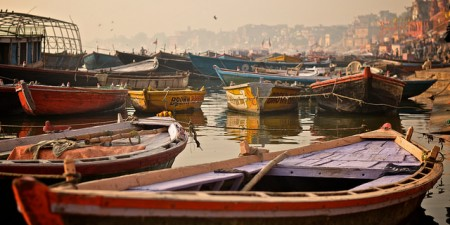 Boats at Varanasi by Andrea Santoni, on Flickr